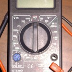digital multimeter power switch mod