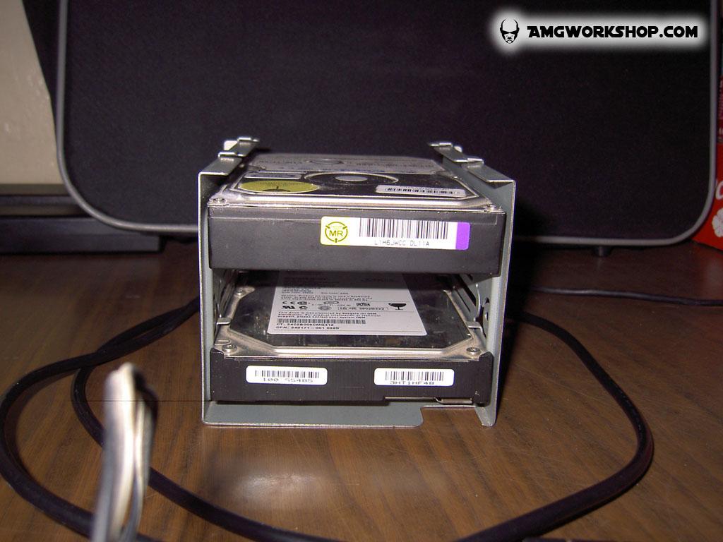 how to break a hard drive
