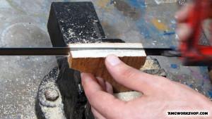 hascksaw blade handel